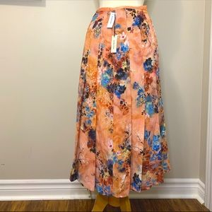 NEW Aritzia Babaton Parlour Skirt A-line Midi
